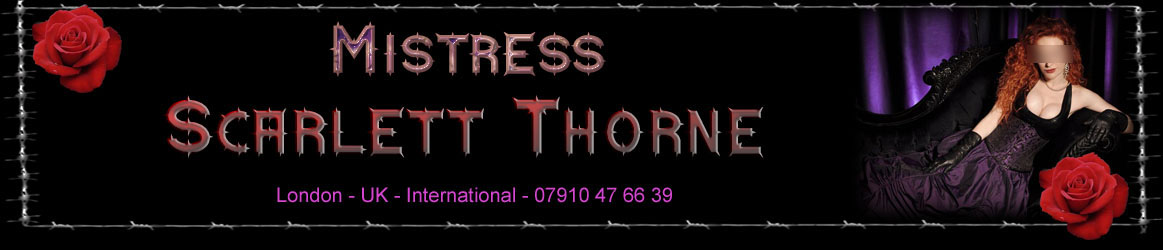 London Mistress Scarlett Thorne logo
